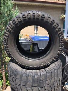 """35-13.50/20 Pro comp xterrain mud tires 20"""""""