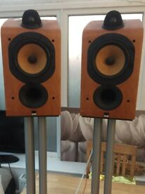 B&W 705 Speakers & Stands