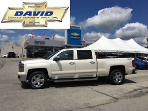 2014 Chevrolet Silverado 1500 LTZ 2LZ CREW 4WD Z71 LEATHER LOADE