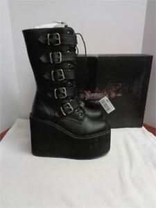 Demonia Women's Boots- Size 10 bnib only 35 cost over 200