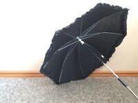 Pushchair parasol black