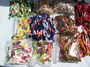 Needlepoint Skein Yarn Large Lot 397 pc Embroidery National