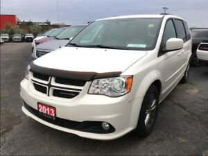 2013 Dodge Grand Caravan R/T**LEATHER**NAV**DVD**BACK UP CAM**BL