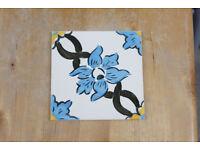 Tiles - Classic Portuguese Hand Printed Azulejos
