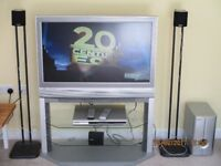 Home cinema system, ideal for a child's bedroom