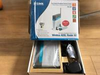 D-Link DSL-904 Wireless ADSL Router Kit