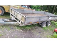 Ifor williams lm166 trailer with ramps