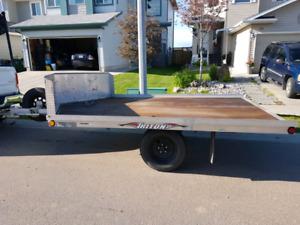 Aluminum sled / quad trailer