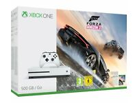 Xbox One S Forza Horizon 3 + Controller bundle. Brand new and sealed. Unwanted prize