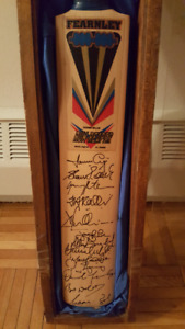 Cricket bat signed by South African Cricket Team of 1999.