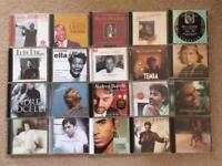 Selection of 20 music CDs