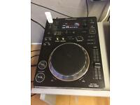 Single Pioneer CDJ 350 CD USB DJ Deck