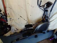 Folding elliptical trainer complete with manuals. Excellent condition.