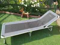 Lichfield folding camp bed/sunlounger
