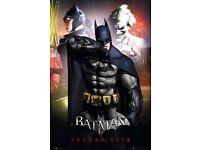 Batman Arkham City Maxi Poster 61cm x 91.5cm HEAVY DUTY LIMITED ED CARD RARE