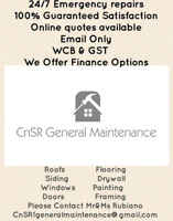 CnSR General Maintenance...work done right!!!!