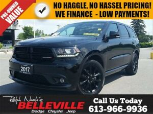 2017 Dodge Durango 2017! - Blacktop Package - 20 Rims - Leather
