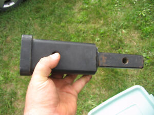 Hidden Hitch 1 ¼ to 2 inch Receiver Adapter