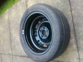 Skoda Fabia Bohemia spare wheel for sale.