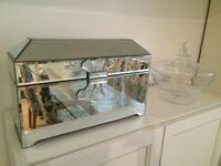 Mirrored bijoux box - 36 x 20 x 15