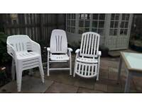 Garden chairs downsizing forces sale