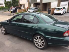 Jaguar x type 55 reg