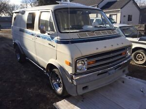 70's dodge van