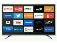 "Sharp 55"" LED smart wifi tv built USB MEDIA PLAYER HD FREEVIEW full hd 1080p"