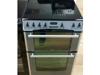 GREY BELLING FREE STANDING 60cm ELECTRIC COOKER