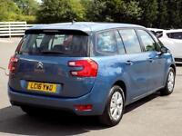 CITROEN C4 GRAND PICASSO 1.6 BLUEHDi VTR PLUS 5dr **Low Miles 7 Seat Diesel (blue) 2016