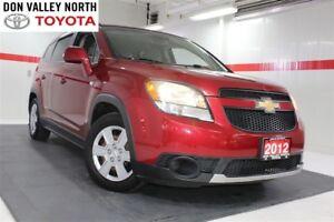 2012 Chevrolet Orlando 1LT Btooth Pwr Wndws Mirrs Locks A/C