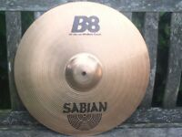 "Cymbals - Sabian B8 18"" Medium Crash Cymbal"
