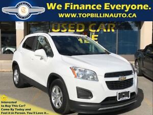 2014 Chevrolet Trax LT with BLUETOOTH, 2 YEARS WARRANTY