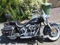04 / 04 HERRITAGE CLASSIC, FULL HARLEY SERVICE HISTORY, LOADED WITH ACCESSORIES