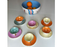 French cups and saucers set