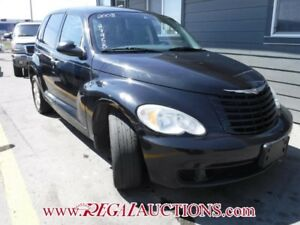 2008 CHRYSLER PT CRUISER BASE 4D HATCHBACK BASE