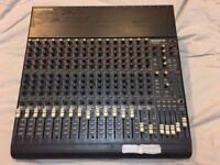 Mackie CR1604-VLZ mixer, not working, needs a new internal power supply.