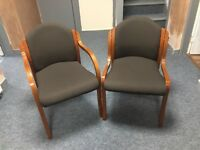 11 Reception chairs