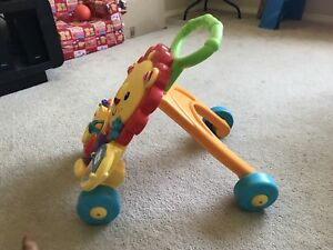 Fisher Price-Musical Lion Activity Walker