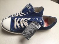 Limited edition brand new converse shoe size 10