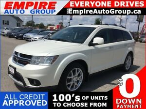 2015 DODGE JOURNEY R/T * AWD * LEATHER * DVD * NAV * REAR CAM *