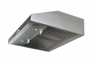 【Amazon】Vesta Stainless Steel 700CFM Under Cabinet Range Hood