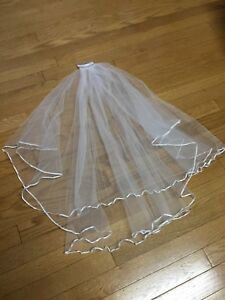 Bridal accessories-veil, flower sash, rhinestone belt