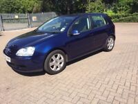 2005 VOLKSWAGEN GOLF 1.6 FSI SPORT 5 DOOR HATCHBACK MANUAL PETROL, 77K