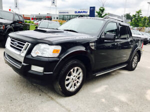 2007 FORD EXPLORER SPORT TRAC 4 DOORS, 4X4,LEATHER,ROOF!!!