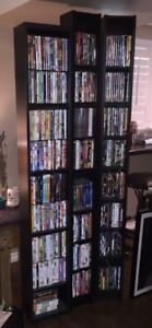 DVD/BOOK/CD Towers