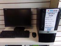 HP Pro 3125, Winodws 7 Pro, 320 GB HDD