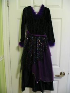 Girls Witch Costume - size 7/8