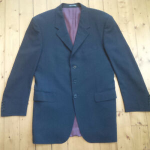 Paul Smith 38 Slim Blue/Bleu Blazer/Jacket/Suit/Veston/Habit