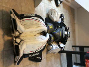 Goalie Equipment--price negotiable